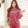 Onesie Combinaison Flannel Pajamas Sets Pyjama Women Soft Mink Fleece Hombre Thicken Sleepwear