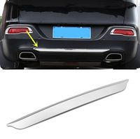 For Jeep Cherokee 2014 2015 2016 Car Rear trunk Tailgate lower bumper cover molding trim tailgate Car Styling Sticker