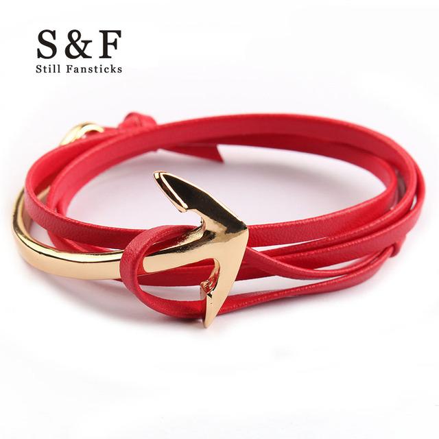 Miansai Anchor Bracelet men jewelry Leather bracelets for women charm bijoux Rope bracelete mens friendship bracciali homme 2017