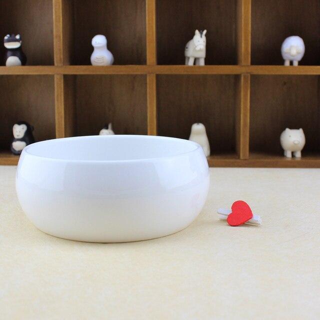 Keramik produkte garten ornament weiß keramik blumentopf runde ...