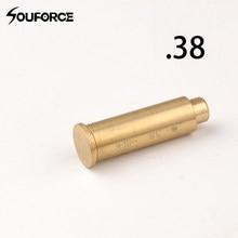 Ponto vermelho cal. 38 de cobre furo a laser sighter calibre cartucho especial boresighter