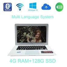 2017 Fast Surfing tablet windows 10 system 14 inch laptop Intel Celeron J1900 2.0GHz 4G ram 128G SSD built in camera send mouse