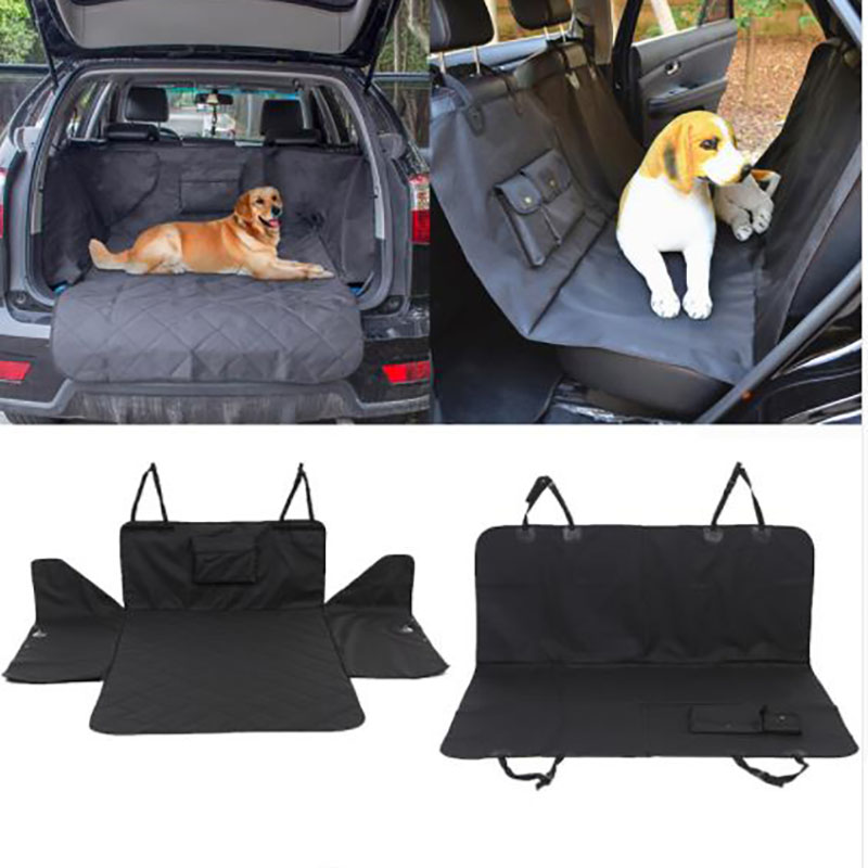 Waterproof Trunk HJKL Mat Dog Pets Cargo Liner Cover Non Slip Car Trunk Protector Back Seat