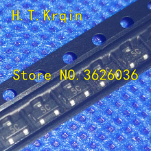 100 PCS BC807-16 BC807-25 BC807 BC807-40 SOT23 5D Mark 5A 5B 5C SOT-23 PNP transistor da finalidade geral 0.5A 45 V