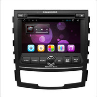 CHOGATH 2 Din Quad Core Android 6 0 Car Dvd Player For SsangYong Korando 2010 2011