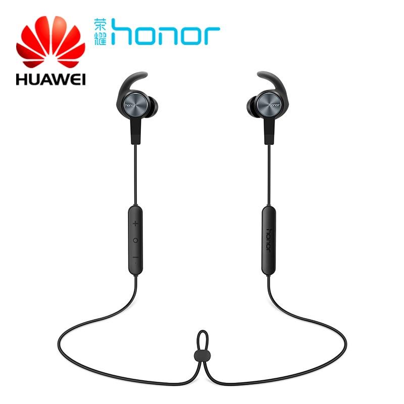 Ursprünglicher Huawei Honor xSport Bluetooth Headset AM61 IPX5 Wasserdicht BT4.1 Musik Mikrofon Steuerung Drahtlose Kopfhörer für Android IOS
