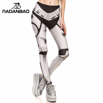 NADANBAO Brand New Women leggings Super HERO Tracer Leggins Printed leggins Woman Clothings 8