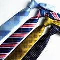 Высокое качество 7 см галстуки для мужчин полосы шеи галстук галстуки пейсли gravata тонкий пункт hombre masculina corbatas 2016 лоте