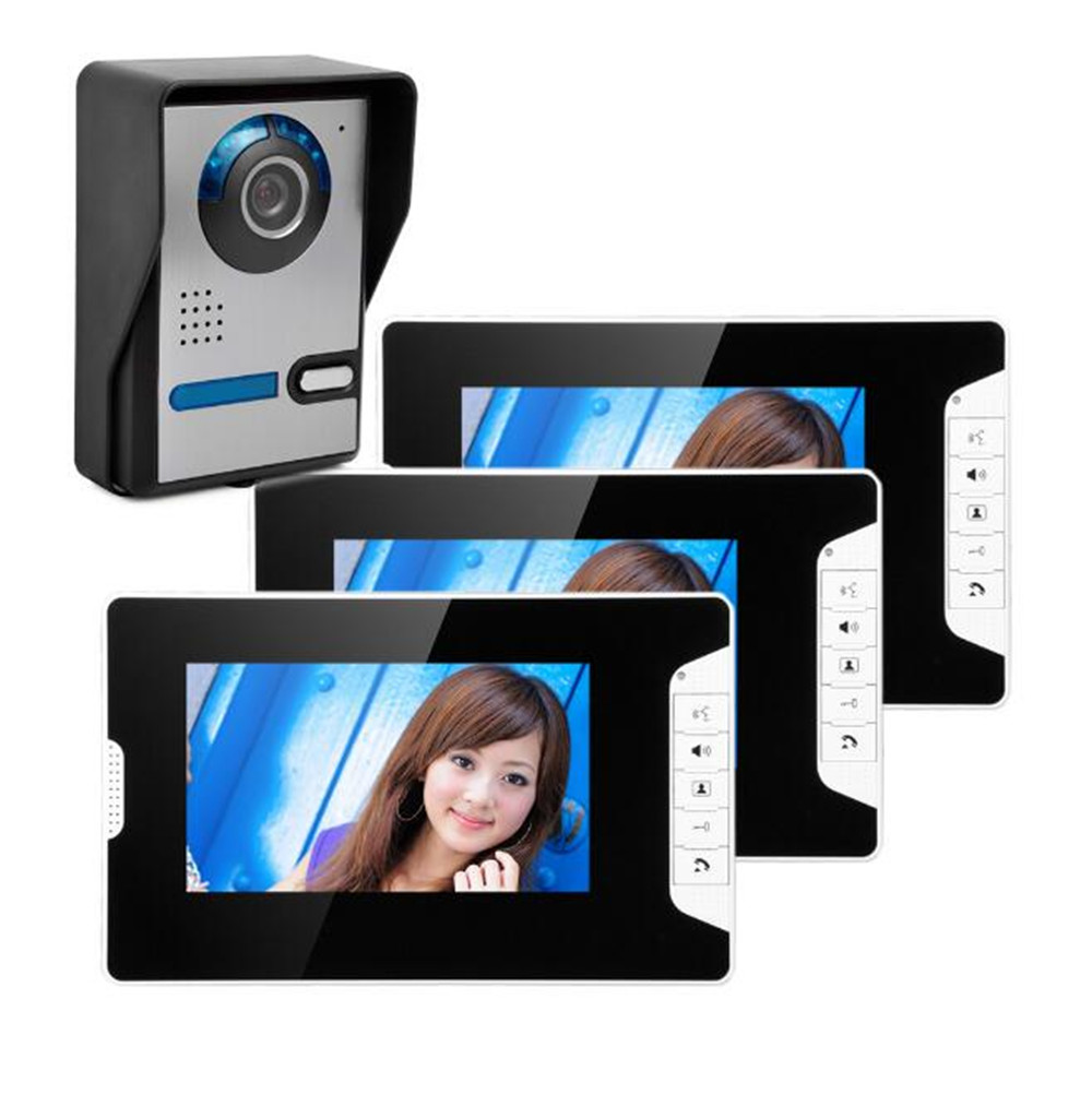 7 inch Handsfree Intercom Video Door Phone