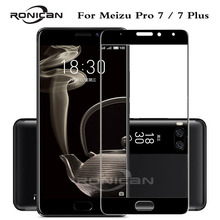 RONICAN 9H Full Cover Tempered Glass for Meizu Pro 7 Plus Screen Prote