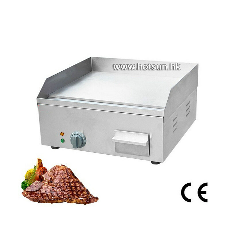 где купить Commercial LPG Gas Steak Countertop Plate Flat Top Ribbed Portable Griddle по лучшей цене