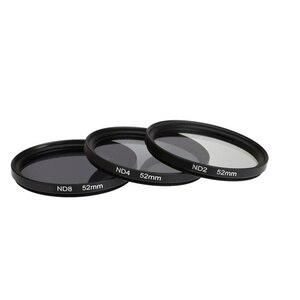 Image 3 - Нейтральная плотность ND 2 4 8 круговой защитный фильтр для объектива 37/40.5/43/46/49/52/55/58/62/67/72/77/82 мм + сумка для Canon Nikon Sony