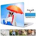 Защиты Оболочки Для Pro 13 A1706 случае Pro 15 A1707 с Сенсорным бар Собака Cat Животных Печать Сумка для ноутбука для Macbook Pro 13 A1708 крышка