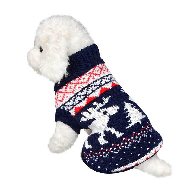Chiristmas Animale Domestico Del Gatto Del Cane del Panno di Inverno Caldo Cappo