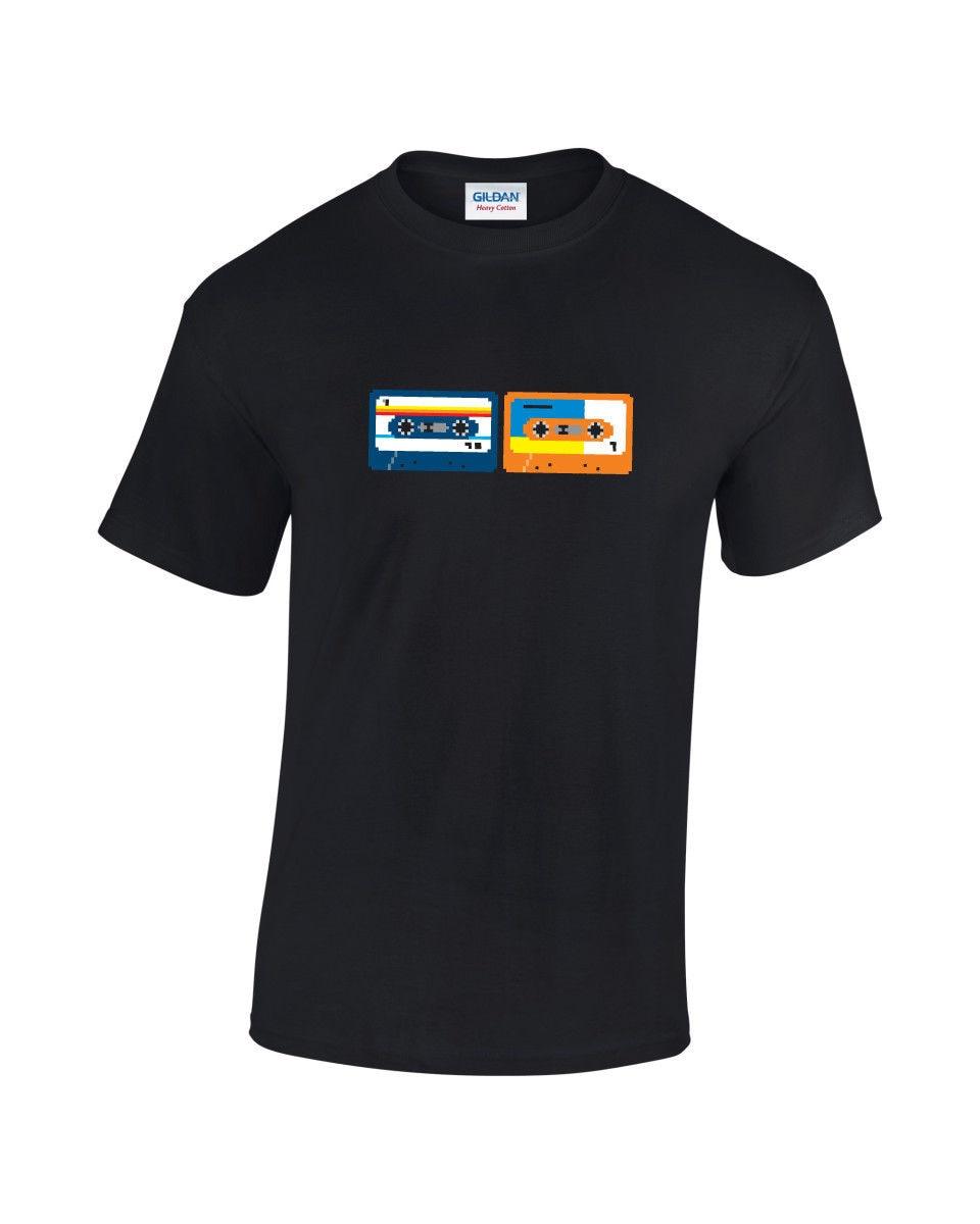 Pixel Cassette Retro Computer Video Gaming T-Shirt