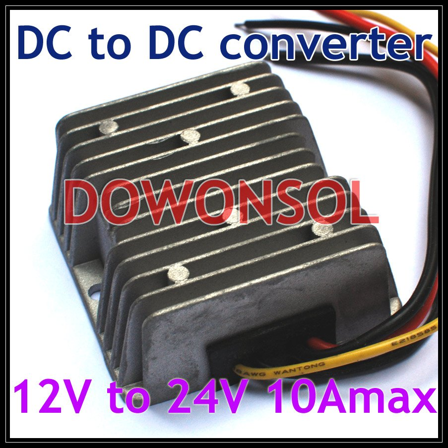 DC DC Converter 12v to 24v 10Amax 240W For cars non-isolated  dc dc converter 12v to 24v 5amax 120w for cars non isolated