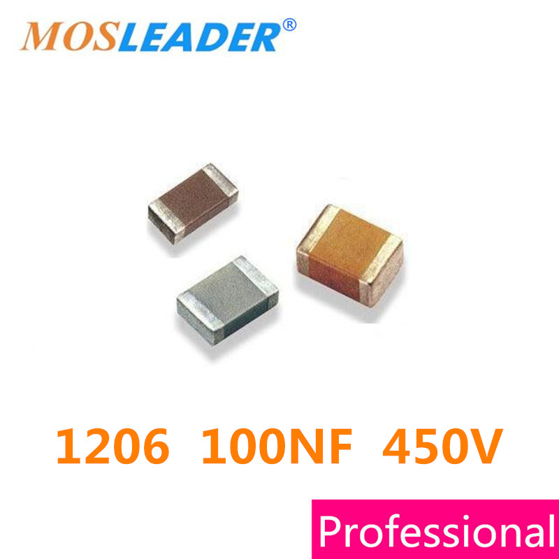 3216 1206 100NF 10% 400V 450V 500V 2000PCS 104K SMD CHIP Ceramic Capacitor High quality 1206 tiles capacitors 104 100 nf 0 1 uf 100 pcs 1206 capacitance