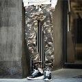 Новая Мода Камуфляж Брюки-Карго Бегунов Повседневная Камо Jogger Брюки Jogger Военный Стиль Длинные Брюки 13M0090