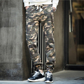 Nueva Moda Camuflaje Cargo Pantalones Joggers Casual Estilo Militar de Camo Basculador Pantalones Basculador Pantalones Largos 13M0090