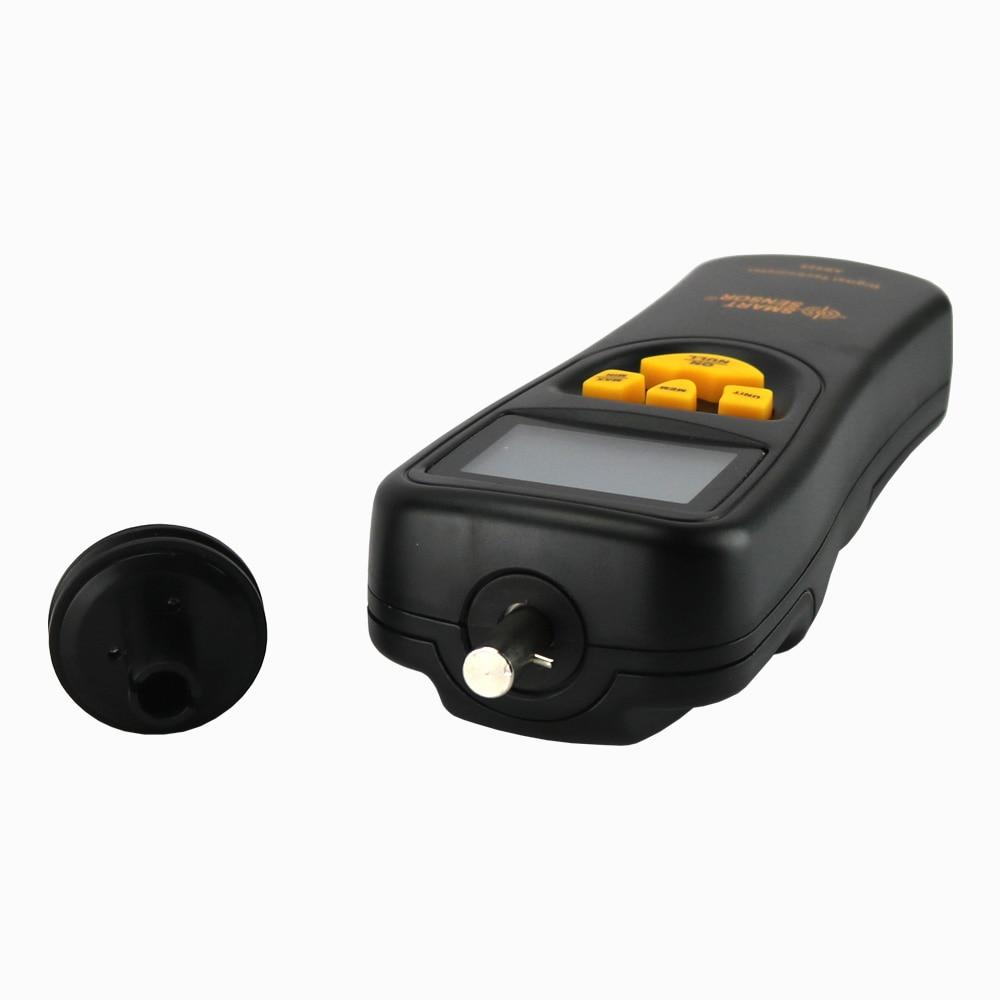 Digitální otáčkoměr Kontaktní motor Otáčkoměr RPM Měřič - Měřicí přístroje - Fotografie 3