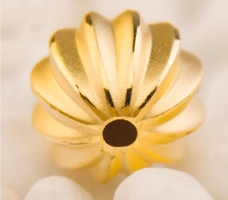 Здесь продается  Amazing Fine Craft Pure 999 24K Yellow Gold 3D Lucky Unique Bead Pendant / 0.95g  Ювелирные изделия и часы