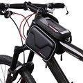 Велосипедная сумка с защитой от дождя  рама  передняя трубка  сумка для велосипеда  двойной чехол  велосипедная сумка  6 2 дюйма  аксессуары дл...
