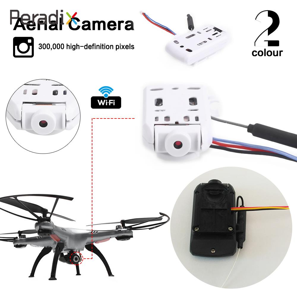 Peradix UAV Camera Telecontrol Camera 480P 2 Colors Wireless RC Helicopter Photography Drones for SYMA X5 X5C