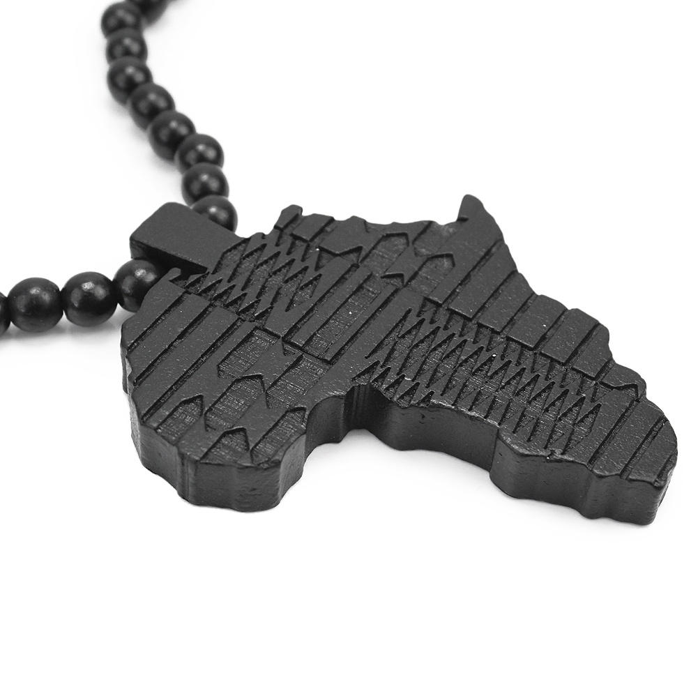 Refaxi 2016 hot men women black hip hop wooden africa map pendant refaxi 2016 hot men women black hip hop wooden africa map pendant beads link chain necklace gift in pendant necklaces from jewelry accessories on mozeypictures Choice Image
