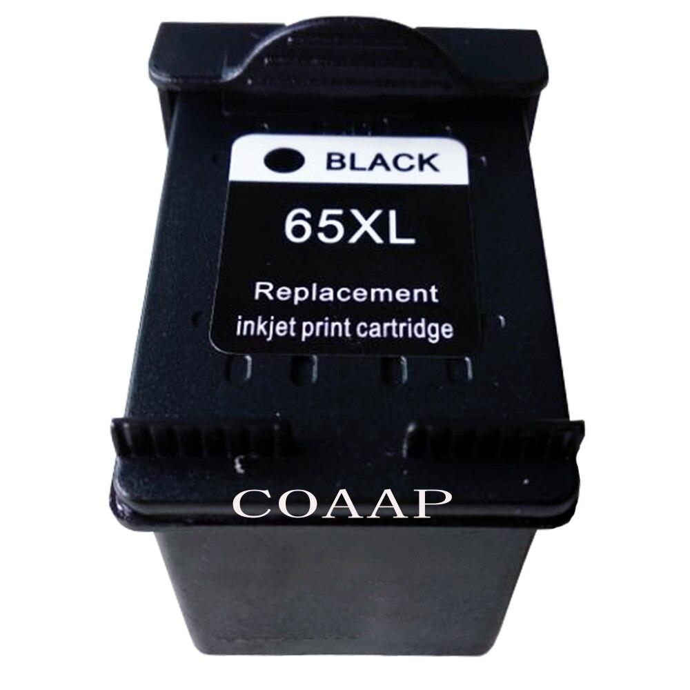 1pk Black Refilled 65XL ink cartridge for hp 65 DeskJet ...