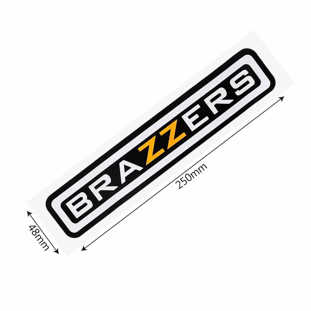 LEEPEE BRAZZERS reflectante accesorios de coche de diseño 4,9*22,5 cm pegatina de coche Auto decoración divertida pegatinas y calcomanías de coche