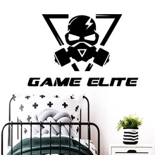 New game elite Waterproof Wall Stickers Art Decor For Kids Rooms Wallpaper