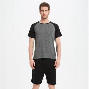 Image 3 - 2020   Sexy Male Pajamas Men Pajama Shorts Pijama Hombre 8159