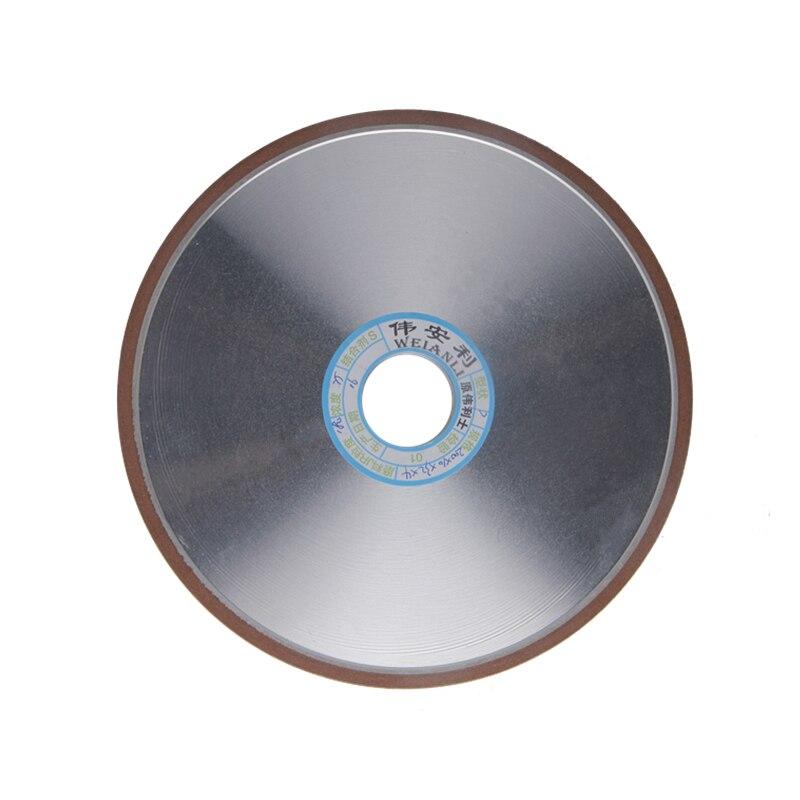 1 pc Diamant Meule 150/180/240/320 Grain Plat Meules 200mm Fraise Broyeur rotatif Outils Abrasifs