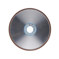 1pc Diamond Grinding Wheel 150 180 240 320 Grain Flat Grinding Wheels 200mm Milling Cutter Rotary