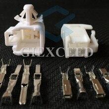 2 комплекта 4 Pin 6520-0349 7282-1042 Автомобильный Электрический разъем воздушный мешок SRS розетка воздушная Пружинная Вилка 90980-10795 для Toyota Lexus