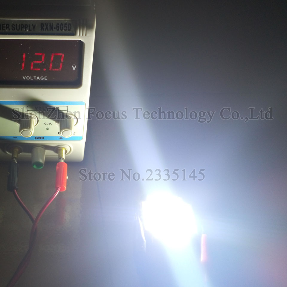 Holofotes diodo emissor de luz Led Chip : Epistar 30x30mil