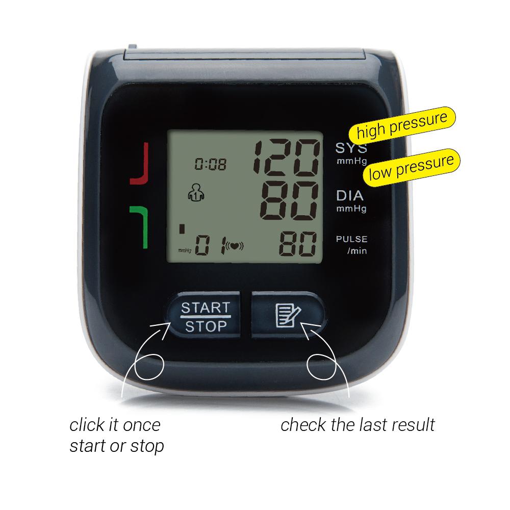 arm wrist blood pressure monitor (2)