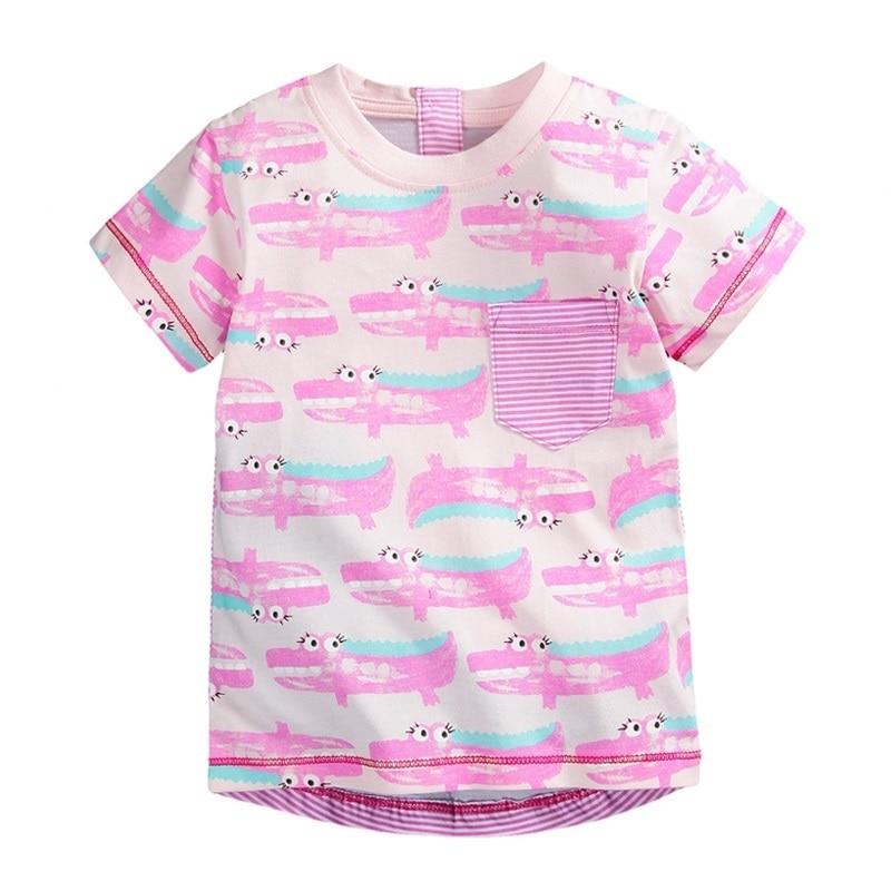 Little Maven 100% Բամբակյա Աղջիկների շապիկ - Մանկական հագուստ