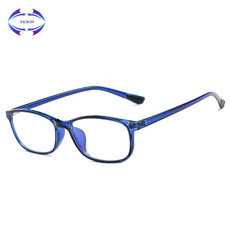 Damenbrillen Angemessen Vcka Platz Tr90 Männer Frauen Computer Lesebrille Uv Blau Licht Schutz Anti-blau Licht Unisex Presbyopie Brillen Weitere Rabatte üBerraschungen Lesebrillen