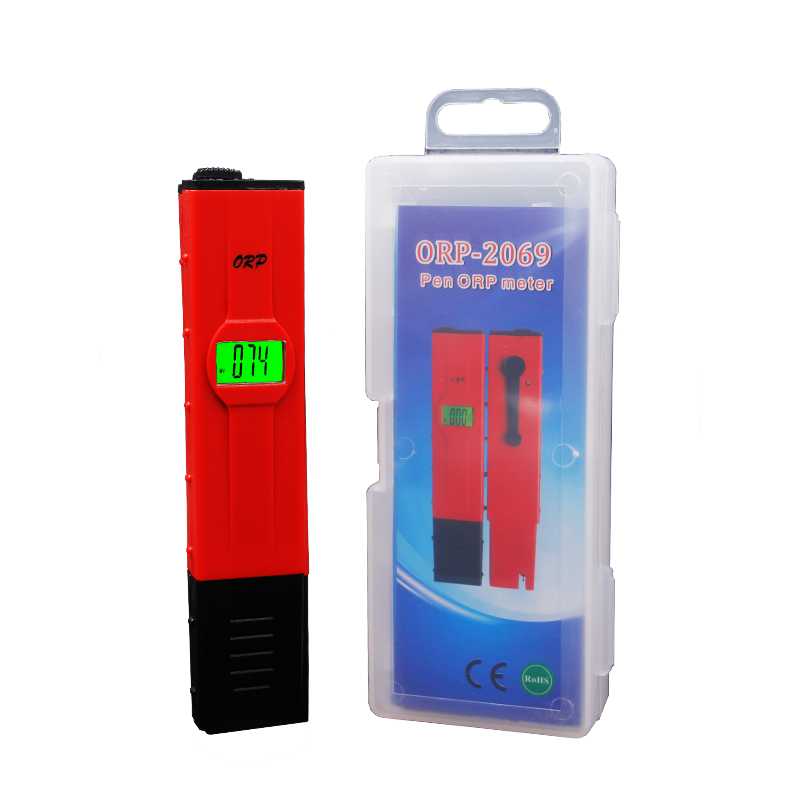 New arrival Digital CE Pen-type ORP Meter backlight Oxidation Reduction Potential Water Treatment Monitor ORP Tester 46%off portable pen orp meter redox potential tester negative potential pen tester orp meter opp bag