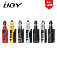 Electronic Cigarette Original IJOY ELITE PS2170 100W TC Kit with 3750mAh Battery & 2ml Captain Mini Subohm Tank vape Kit iJOY