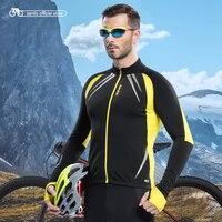 Santic Для мужчин Велоспорт куртка Велоспорт Джерси с длинным велосипед зима весна Куртки Велоспорт мужской Термальность Майки c01023r/Y