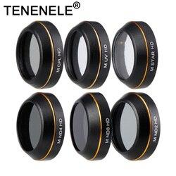 TENENELE For Mvaic Pro Drone Filter UV Star ND Filters Set For DJI Mavic Pro Circular Polarizing Lens Camera Gimbal Filter Kit