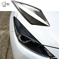 Для Mazda 3 Axela BM 2014 углеродное волокно фара для настройки бровей часть накладка для Axela BM Knight Спортивная углеродная фара для бровей