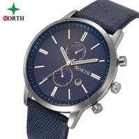 Men Dress Watches Luxury Brand Genuine Leather Strap Analog Casual Quartz Watches For Man Sport Wrist