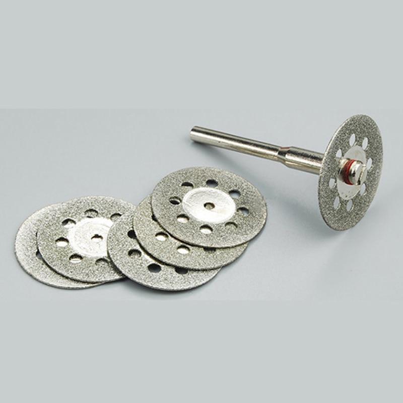 10бр 22 мм диамантени режещи дискове - Абразивни инструменти - Снимка 4