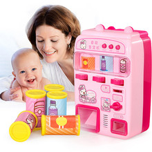 Play House Toys For Children Simulation Supermarket Cash Register Puzzle House T