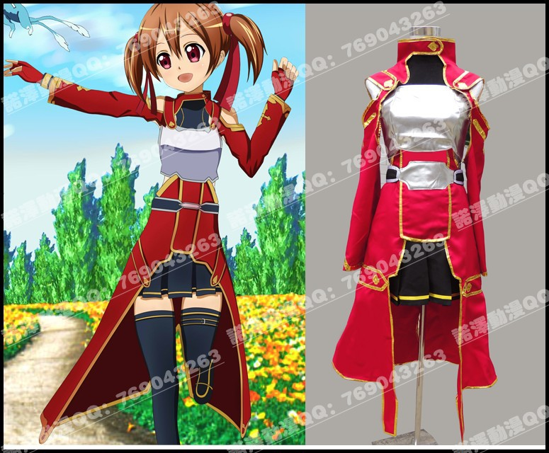 Hot Anime Sword Art Online Silica Cosplay Costume Battleframe S-XL Or  Custom-made Any Size Free Shipping 9aeaf52daa8a