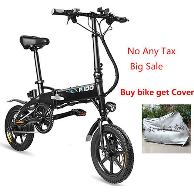fast delivery fiido d2 electric bicycle smart folding electric bike