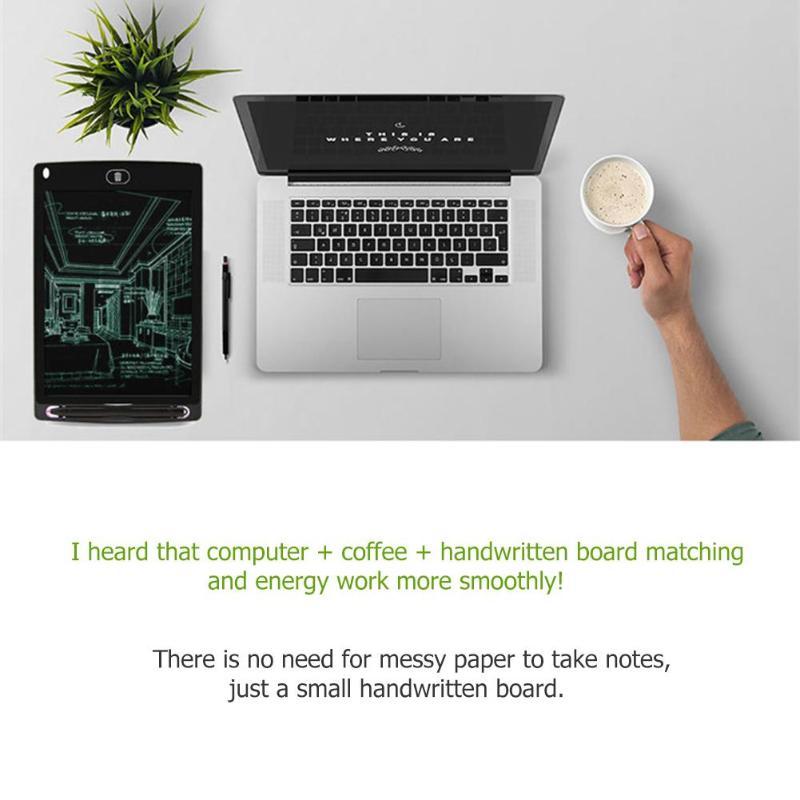 Tableta de escritura LCD inteligente Bloc de notas electrónico 7